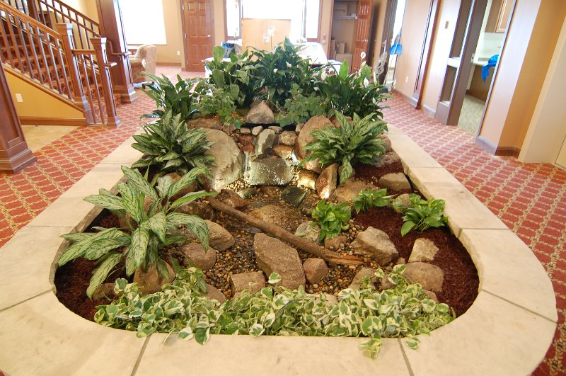 pond-pictures/Indoor Water Features/columbia-heights-mn-indoor waterfall