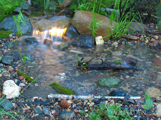 Backyard Waterfalls Pictures Various Design