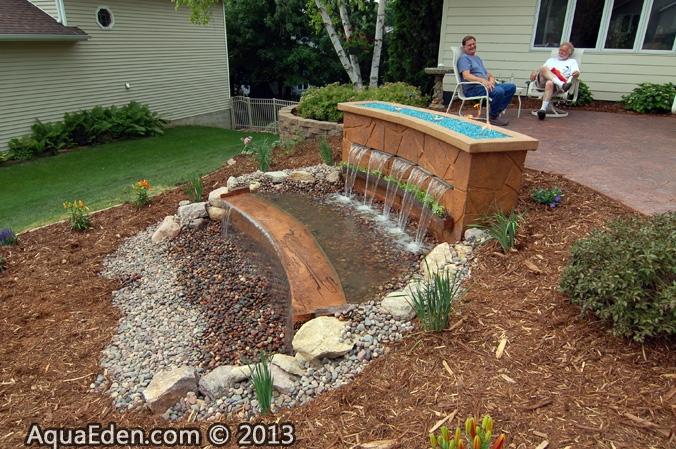 waterfall-sheet-concrete-fountain-rochester-mn