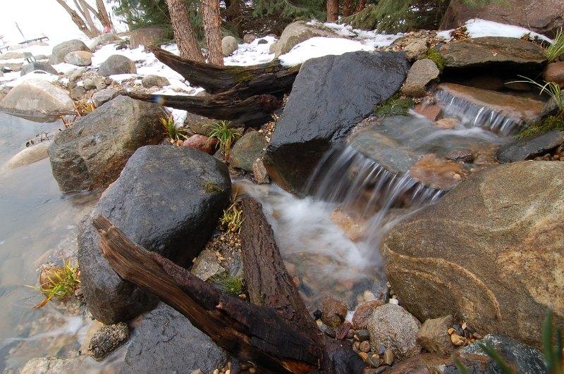 wells-lake-mn-waterfall