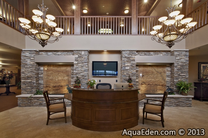 Pictures of Ponds, Waterfalls, Fountains, Indoor Water Walls - Aqua ...
